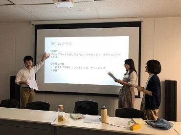 学生によるプロジェクト提案・発表日!
