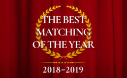 『THE BEST MATCHING OF THE YEAR』に選出されました!